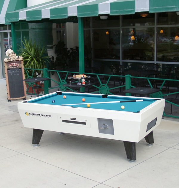 Coin Operated Pool Table Outdoor Pool Tables - Pool table movers orlando fl