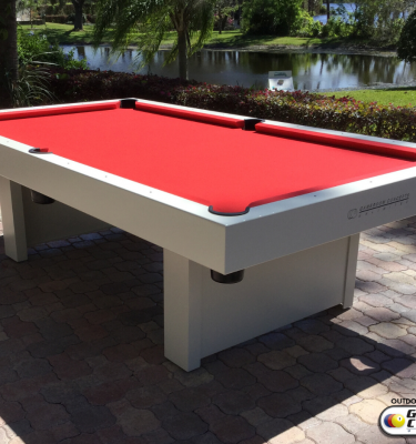 1000-Series outdoor pool table