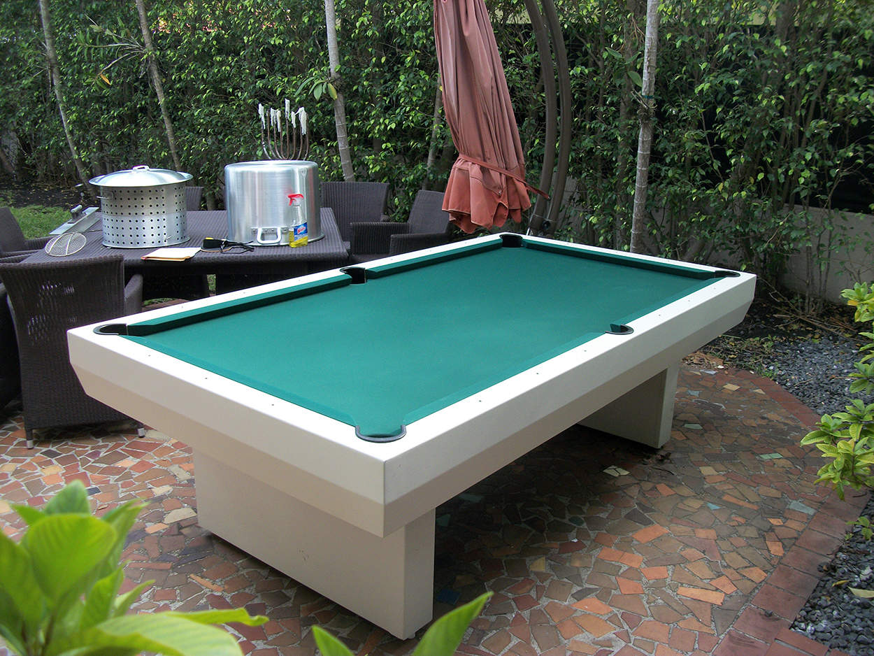 Outdoor Pool Table Cesar3 Elite Home Gamerooms Above