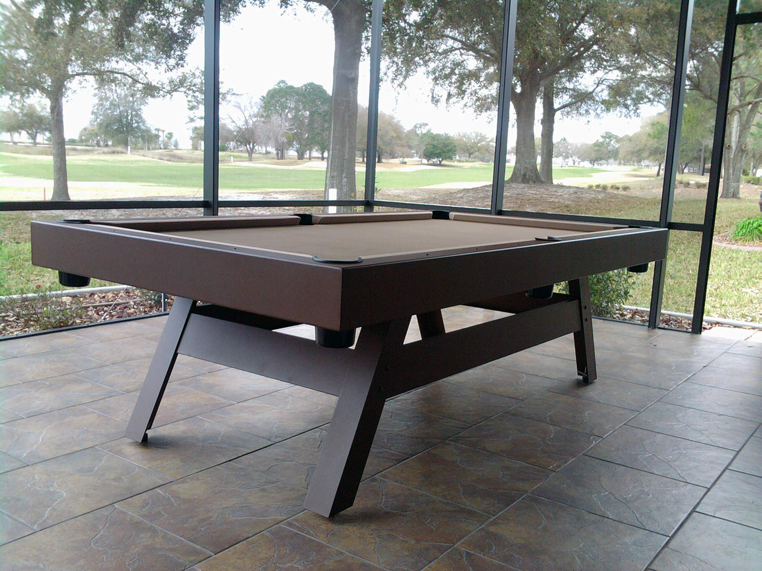 E Series Contemporary Tables Outdoor Pool Tables
