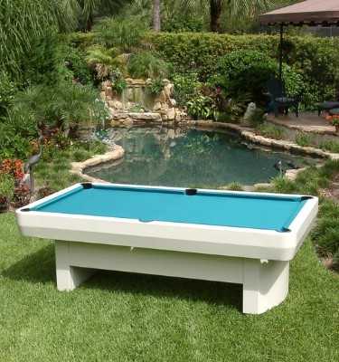 Outdoor all weather pool table