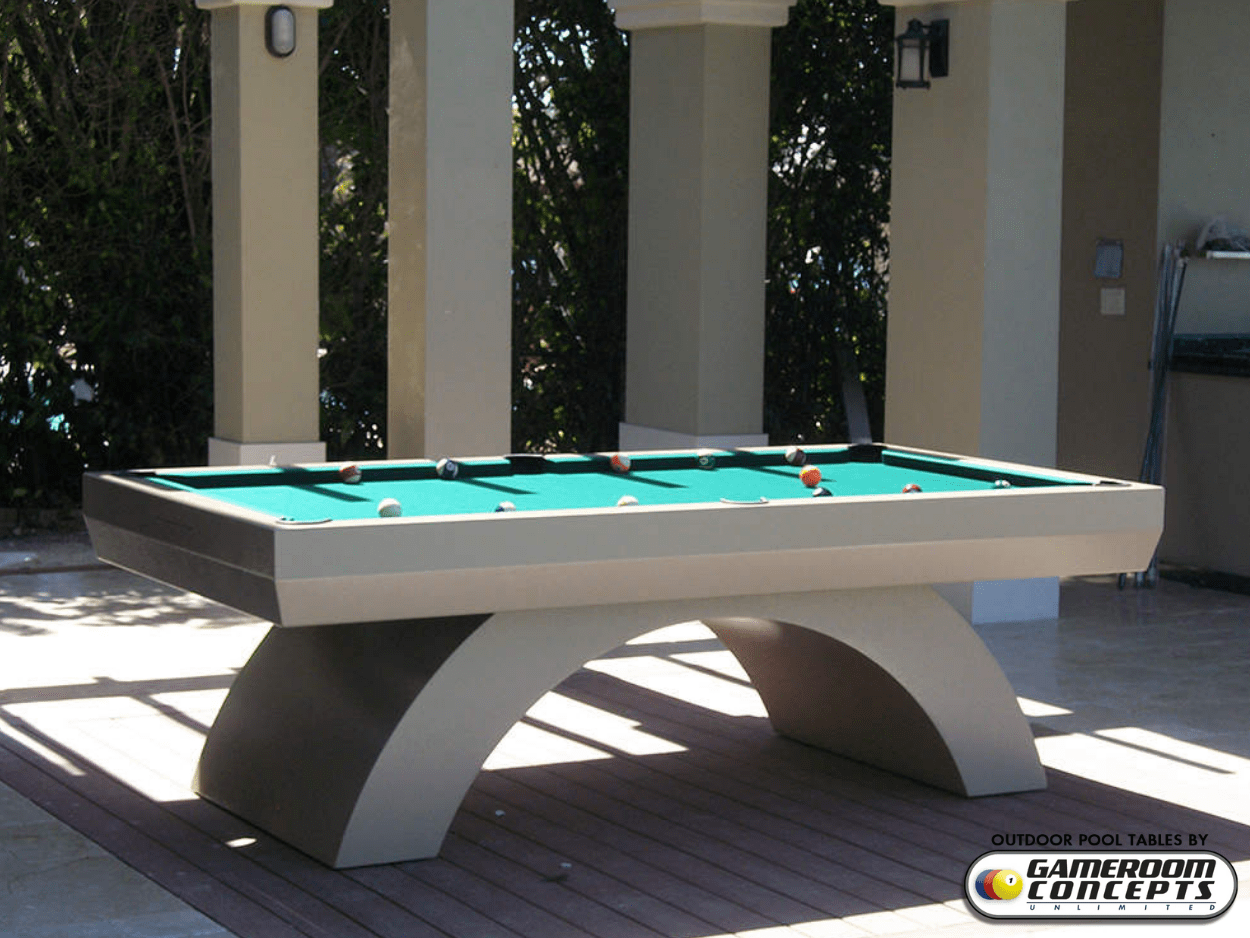 High End All Weather Pool Table Outdoor Pool Tables