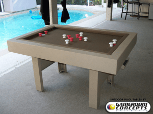Outdoor Bumper Pool Table