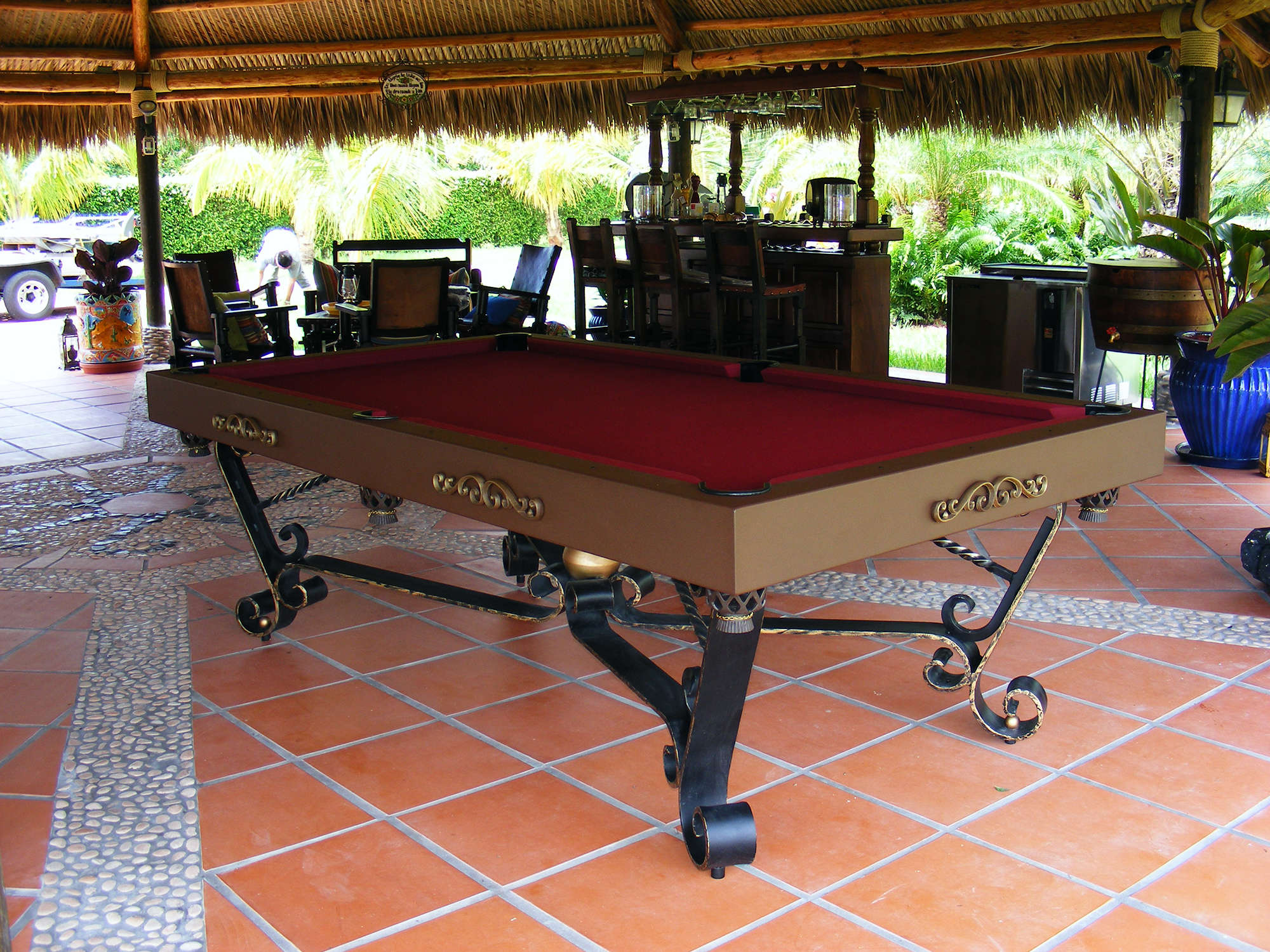 Cordoba Traditional Pool Tables Outdoor Pool Tables