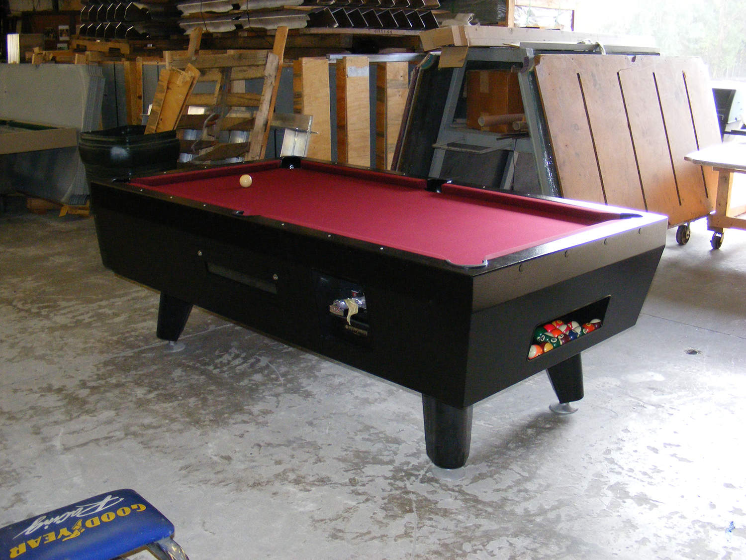 Coin Operated Pool Table Outdoor Pool Tables - Us billiards pool table
