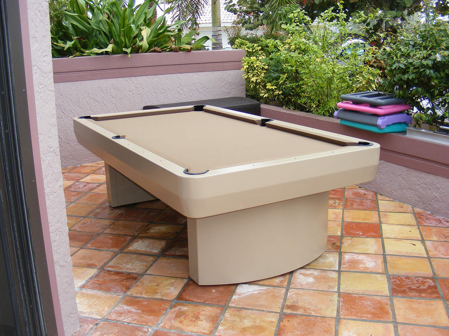 3000 series contemporary table outdoor pool tables - Pool table supplies near me ...
