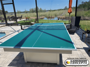 Outdoor Ping Pong Conversion top