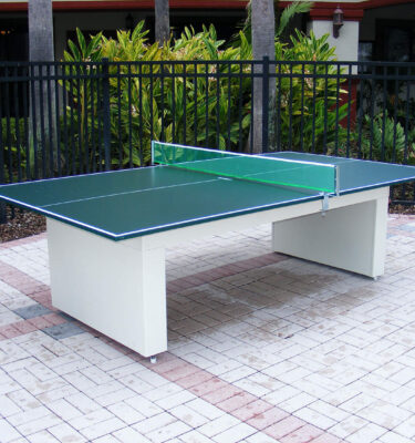 Speciality Tables Outdoor Pool Tables - Convert indoor pool table to outdoor