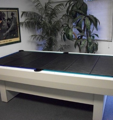 Outdoor pool table dining insert
