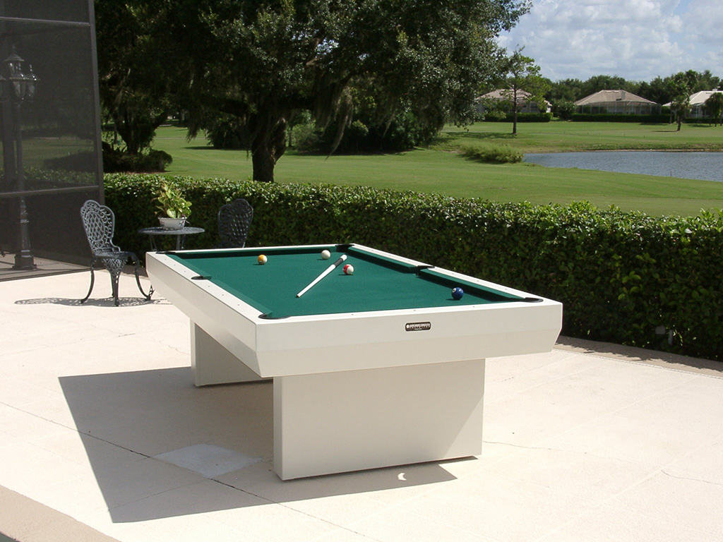 1000 series contemporary table outdoor pool tables for Outdoor pool