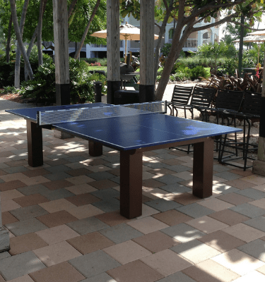 Outdoor ping pong table, all weather ping pong table,
