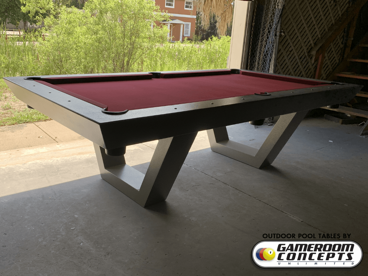 Vector All Weather Pool Table Gameroom Outdoor Pool Tables