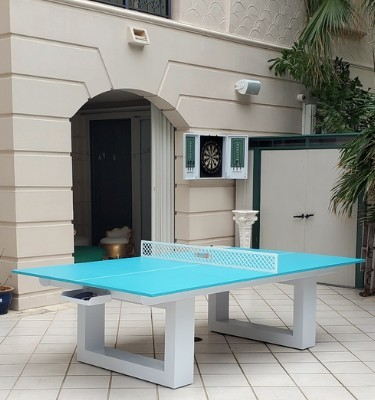 Lupo all-weather outdoor ping pong table